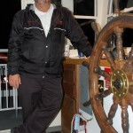 Captain Steve Terry embodies Twain's riverboat spirit