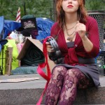 Occupy Wall Street: Scenes from a sleepy protest